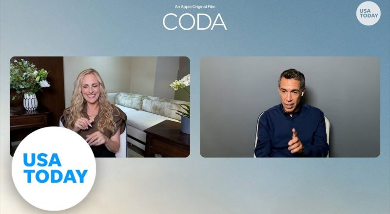 'CODA' star Marlee Matlin on working with screen husband Tony Kotsur | USA TODAY 1