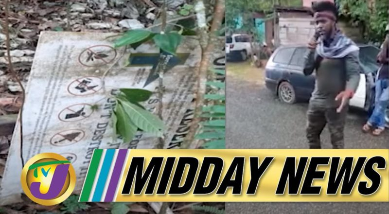 Maroons & Cops in Standoff | PAHO to the Rescue | TVJ Midday News - August 12 2021 1