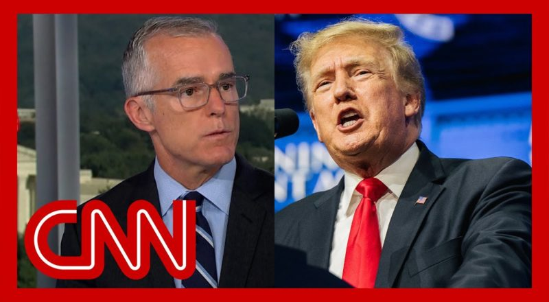 'That's a threat': McCabe reacts to Trump's remark about officer 1