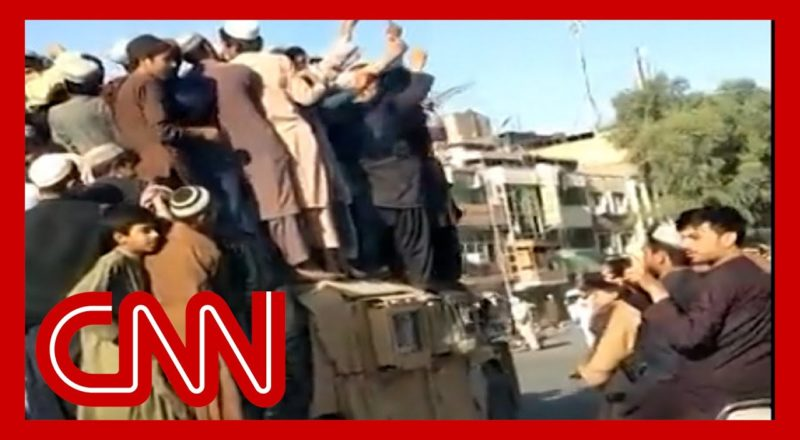 Taliban releases footage after capturing major city in Afghanistan 9