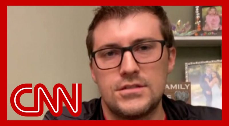 Father of infant hospitalized by Covid-19 has CNN anchor fighting back tears 1