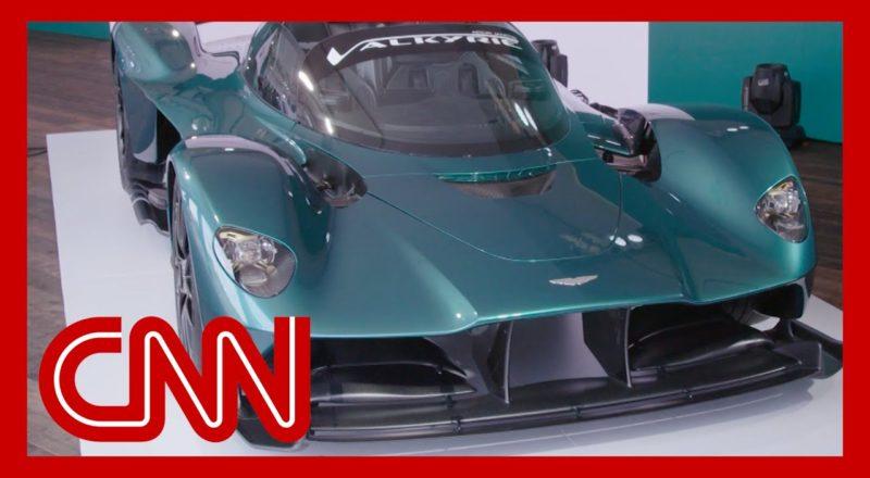 See Aston Martin's F1-inspired Valkryie Spider hypercar 1