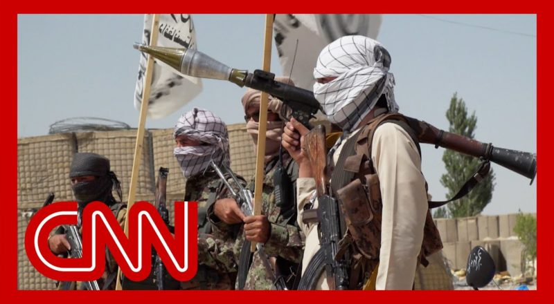 CNN reporter enters US base captured by the Taliban. See what she found 1