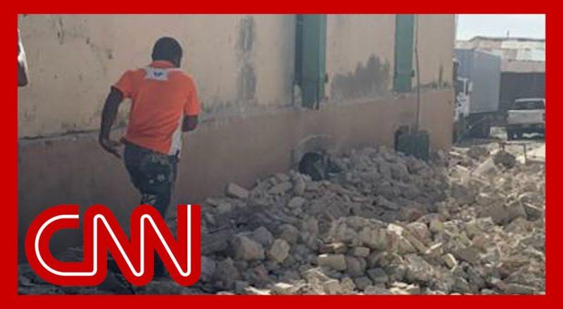 Video shows aftermath of 7.5-magnitude Haiti earthquake 1