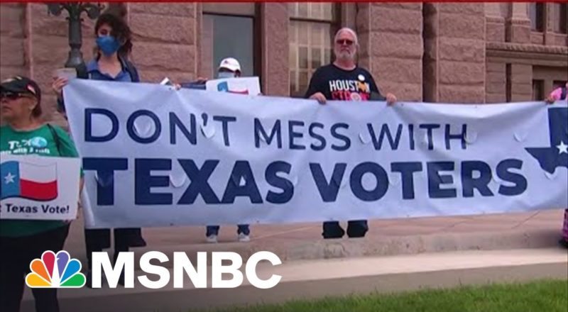 Senate Democrats Are 'Leaning On The Shoulders' of Texas Democrats When It Comes To Voting Rights 1