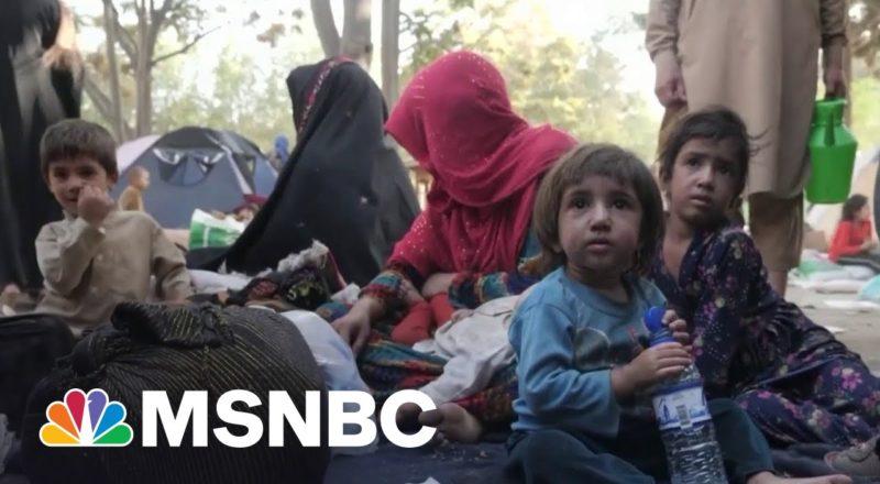 Women, Children Seek Refuge in Kabul as Taliban Sets Sight On Capital 1