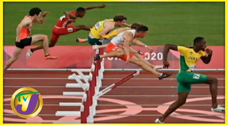 Hansle Parchment 110m Hurdles Final Golden Run at the Tokyo 2020 Olympics 1