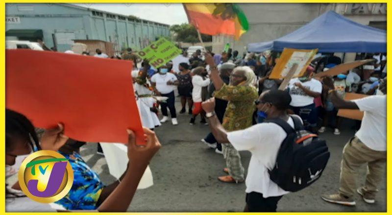 Anti-Vaccine Protests in Antigua   TVJ Smile Jamaica 1