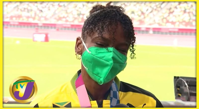 TOKYO 2020: Megan Tapper wins Jamaica's 1st Medial in 110m Hurdles Interview 1