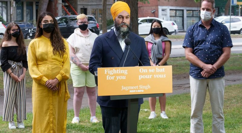 'Selfish summer election': NDP Leader Singh calls out Trudeau 7