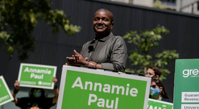 'Public health lost to partisan ambition': Green Party Leader Paul launches election campaign 5