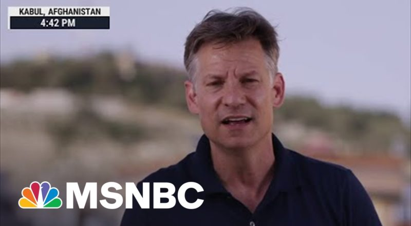Richard Engel: 'I'm Not Surprised At All' Kabul Fell To The Taliban So Quickly 1