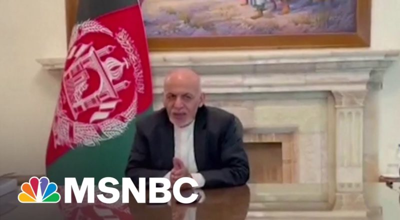 Afghanistan President Ghani Flees The Country Amid Kabul Collapse to Taliban 1