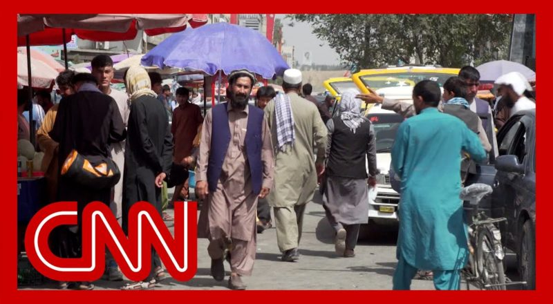 CNN reporter shows scene in Kabul streets just days after Taliban takeover 1