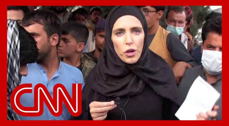 Gunfire is constant: Clarissa Ward reports as Taliban take control in Kabul 1