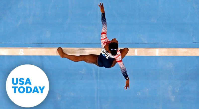 Simone Biles speaks about mental health and decision to pull out of events before beam | USA TODAY 3