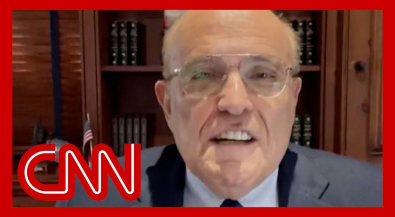 See Rudy Giuliani's first Cameo messages 1