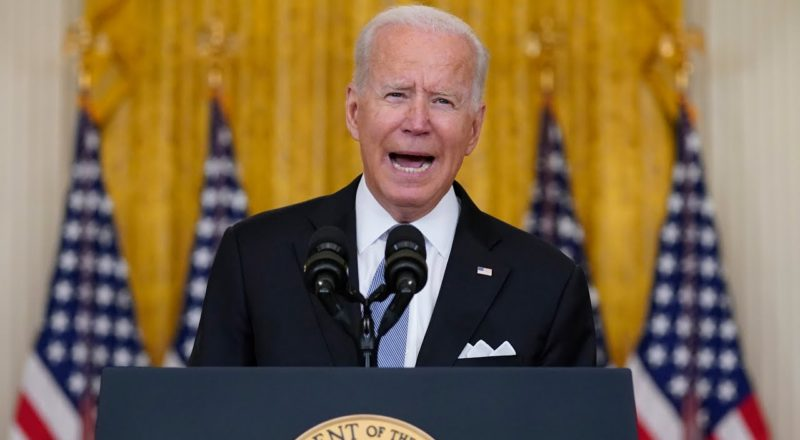 FULL ADDRESS: U.S. President Biden on the fall of Afghanistan to the Taliban 1
