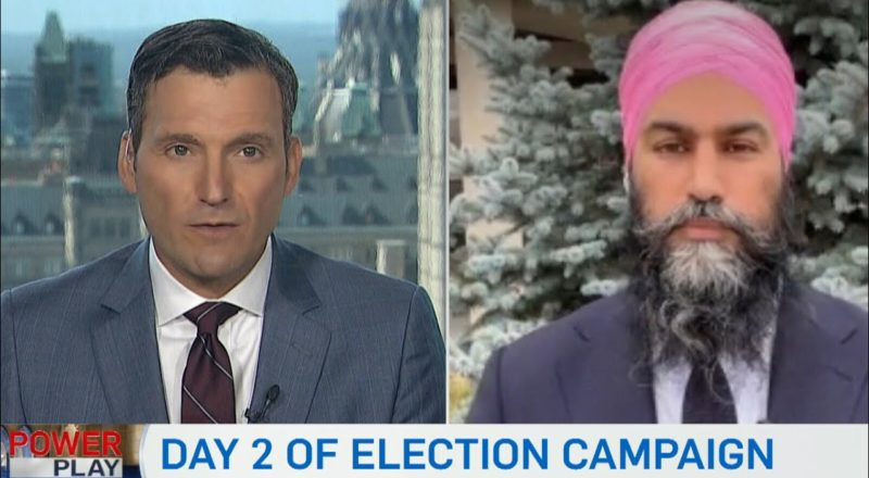 One-on-one interview with NDP Leader Jagmeet Singh 1