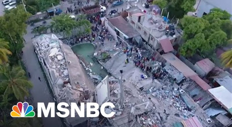 Over 1200 Dead After Haiti Earthquake, Bracing For Tropical Storm Grace 3