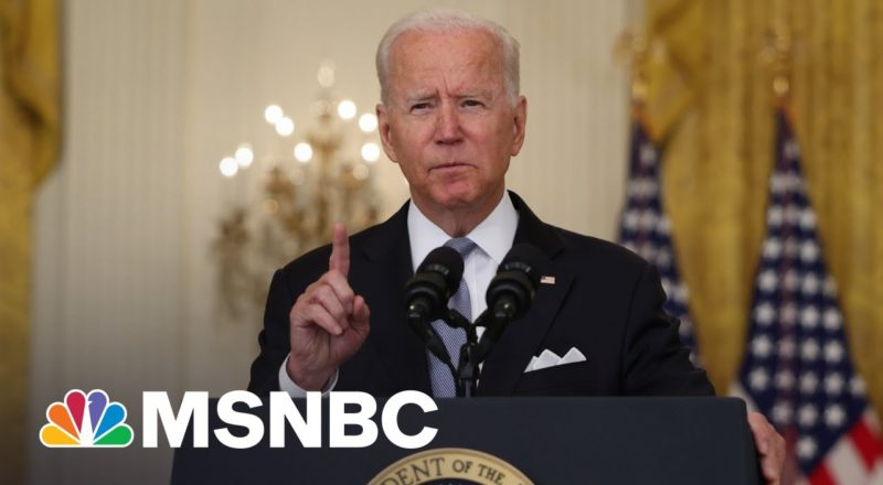 Biden Defiant On Afghanistan Withdrawal In Face Of Criticism 1