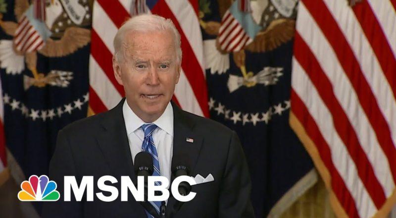 'Go Bigger': Progressives Urge Biden To Spend Political Capital Now 1
