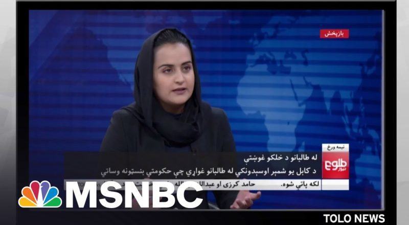 Afghan Women Journalists Stalwart In Face Of Taliban Takeover 1