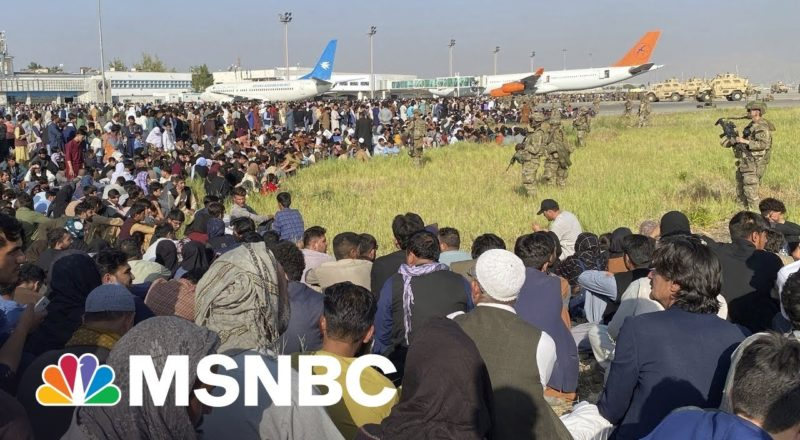 Frantic Exodus From Afghanistan Ties U.S. In Logistical Knot At Kabul Airport 1