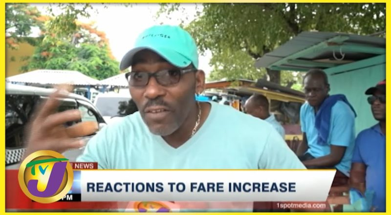Reactions to Fare Increase   TVJ News - August 13 2021 1