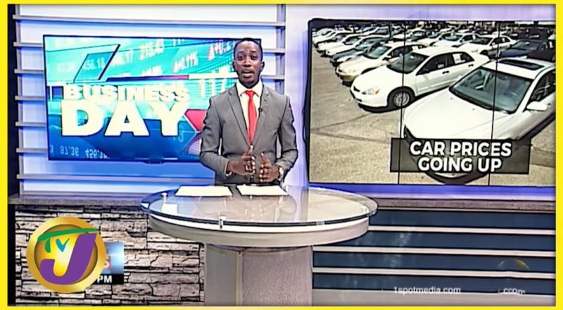 Car Prices are Going up, But why? | TVJ Business Day - August 13 2021 1