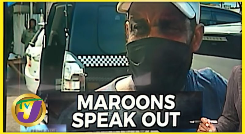 Maroons Speaking out   TVJ News - August 13 2021 1