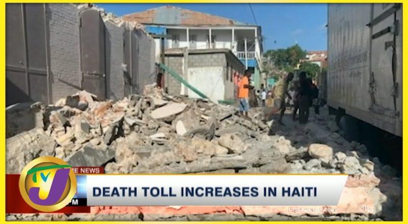 Death Toll Increase in Haiti | TVJ News - August 15 2021 1