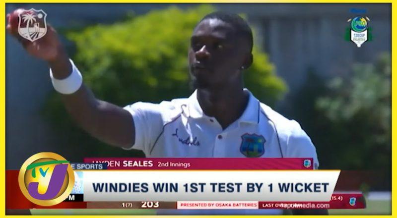 Windies Win 1st Test by 1 Wicket - August 15 2021 1
