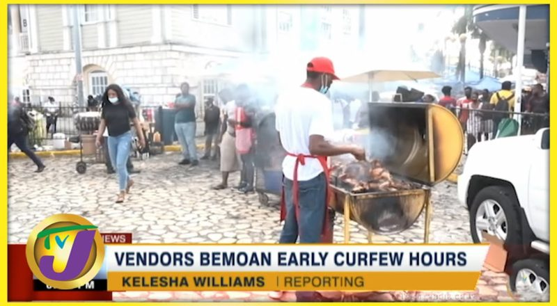 Vendors Bemoan Early Curfew Hours | TVJ News - August 15 2021 1