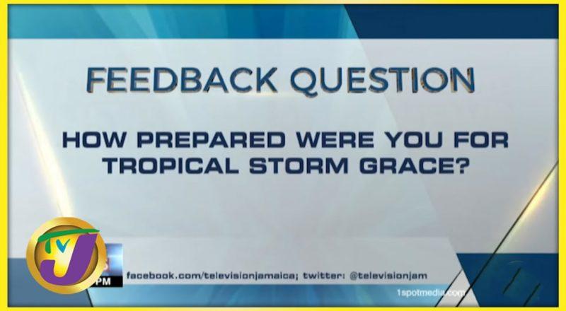 Feedback Question | TVJ News - August 17 2021 1