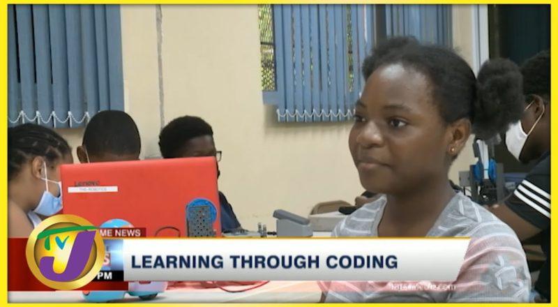 Jamaican Children Learning Through Coding   TVJ News 1