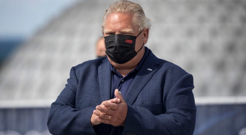 Doug Ford threatens to throw unvaccinated MPPs out of caucus | COVID-19 in Ontario 1