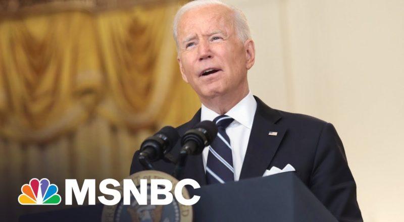 Defiant Biden Takes On GOP Governors Banning Mask Mandates 1