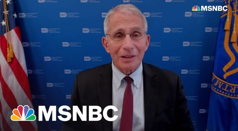 Fauci On Covid Booster Shots: 'Let's Get Ahead Of The Curve' 1