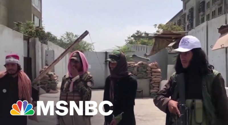 U.S. Officials Negotiate With Taliban While Evacuating Afghanistan 8