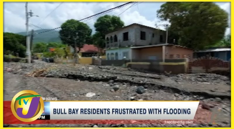 Tropical Storm Grace | Bull Bay Residents Frustrated with Flooding | TVJ News - August 18 2021 1