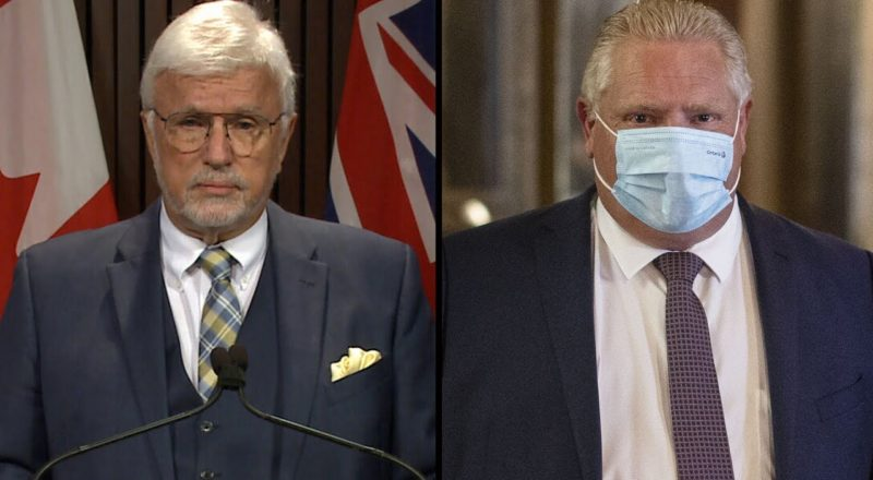 PC MPP defies Doug Ford, says he won't get vaccinated | COVID-19 in Ontario 1