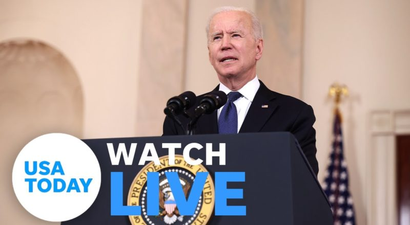 President Biden delivers remarks on Afghanistan withdrawal, Tropical Storm Henri (LIVE) | USA TODAY 1