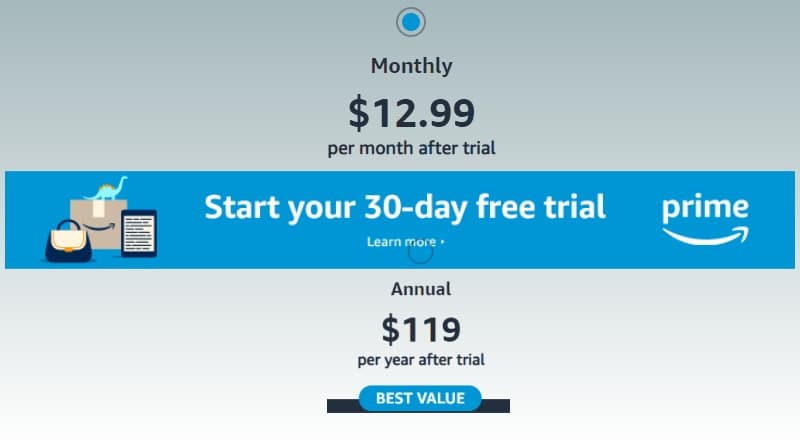 Amazon Prime free 30 days trial promotions - breaking news near me
