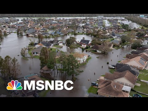 Catastrophic Damage Across Louisiana As Recovery Begins 1