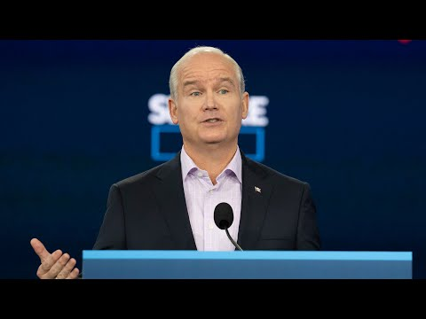 Sept. 1: Conservative Leader Erin O'Toole on infrastructure 1