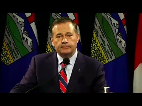 Kenney's plan to offer $100 for people to get vaccinated led to a tense exchange 3