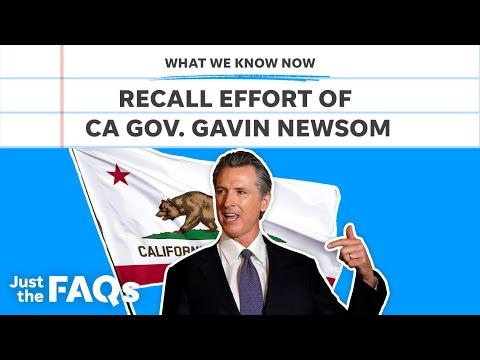 California governor Gavin Newsom facing recall, explained | Just the FAQs 2