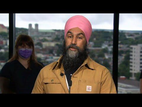 NDP's Singh pledges federal dental care program if elected 1