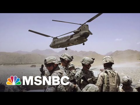 How Much Can The U.S. Spend On Americans Now That Afghan War Is Over? | Michael Moore On MSNBC 4